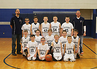 5th Grade Boys Basketball 1/23/18