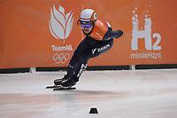 SPEEDSKATING: DORDRECHT: 07-03-2021, ISU World Short Track Speedskating Championships,  Sjinkie Knegt (NED), ©photo Martin de Jong