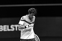 Rotterdam, The Netherlands, 28 Februari 2021, ABNAMRO World Tennis Tournament, Ahoy, First round match: Robin Haase (NED).<br /> Photo: www.tennisimages.com/henkkoster