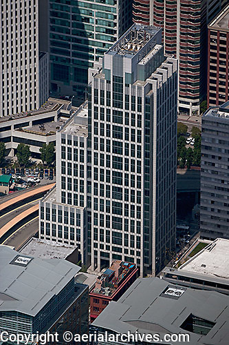 aerial photograph 199 Fremont Street office tower San Francisco