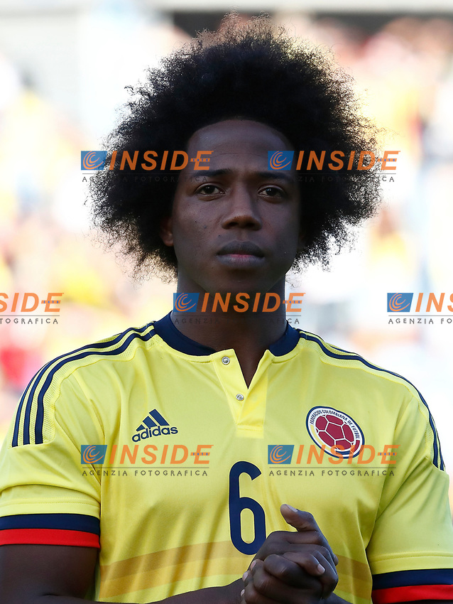 Colombia's Carlos Sanchez during international friendly match. June 13,2017.(ALTERPHOTOS/Acero/Insidefoto)<br /> Camerun - Colombia <br /> Foto Acero/Alterphotos/Insidefoto <br /> ITALY ONLY