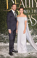 """Dan Evans and Emma Watson<br /> arrives for the """"Beauty and the Beast"""" screening, St.James', London.<br /> <br /> <br /> ©Ash Knotek  D3234  23/02/2017"""