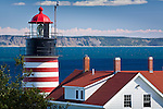West Quoddy Head Light, Lubec, ME, USA