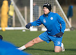 St Johnstone Training….27.12.16<br />David Wotherspoon pictured in training this morning at McDiarmid Park ahead of tomorrow's game against Rangers<br />Picture by Graeme Hart.<br />Copyright Perthshire Picture Agency<br />Tel: 01738 623350  Mobile: 07990 594431