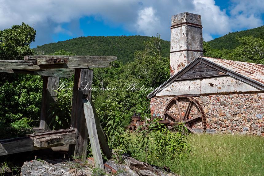 Reef Bay Plantation<br /> Reef Bay<br /> Virgin Islands National Park<br /> St. John, USVI