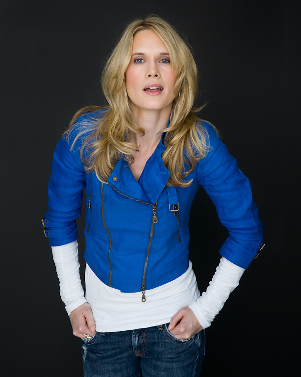 """Actress Stephanie March photographed for the Creative Coalition """"It Starts with the Arts"""" Project"""