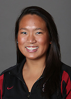 STANFORD, CA - OCTOBER 28:  Debbie Chen of the Stanford Cardinal synchronized swimming team poses for a headshot on October 28, 2009 in Stanford, California.
