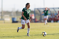 Bradenton, FL - Sunday, June 12, 2018: Reyna Reyes during a U-17 Women's Championship Finals match between USA and Mexico at IMG Academy.  USA defeated Mexico 3-2 to win the championship.