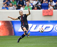 Heather Mitts. The USWNT defeated Mexico, 1-0, during the game at Red Bull Arena in Harrison, NJ.