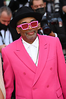 """CANNES, FRANCE. July 6, 2021: Spike Lee at the premiere of """"Annette"""" at the gala opening of the 74th Festival de Cannes.<br /> Picture: Paul Smith / Featureflash"""