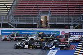#98: Grant Enfinger, ThorSport Racing, Ford F-150 Farm Paint/Curb Records n#8: John Hunter Nemechek, NEMCO Motorsports, Ford F-150 Fire Alarm Services, Inc. #4: Raphael Lessard, Kyle Busch Motorsports, Toyota Tundra SiriusXM #2: Sheldon Creed, GMS Racing, Chevrolet Silverado Chevy Accessories #16: Austin Hill, Hattori Racing Enterprises, Toyota Tundra TRD / United Rentals