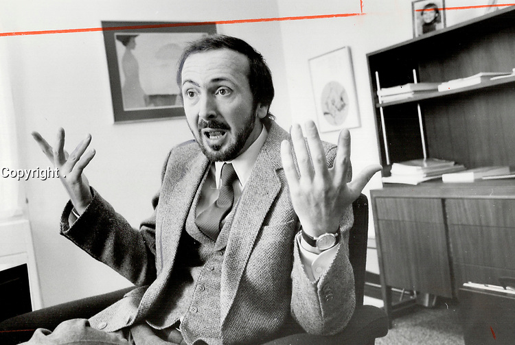 1980 FILE PHOTO - ARCHIVES -<br /> <br /> Canadian common market: Guy Joron, the PQ's economic thinker, believes under the sovereignty association's plan nothing will really change for businessmen.<br /> <br /> PHOTO :  Jeff Goode - Toronto Star Archives - AQP