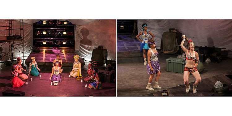 Lysistrata written by Aristophanes and directed by Sheila Daniels at the Cornish Playhouse in Seattle, WA.
