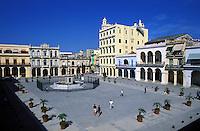 Cuba, Havana. Plaza Viej
