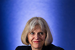 "© Joel Goodman - 07973 332324 . 22/05/2012 .  Manchester , UK . Home Secretary THERESA MAY speaks on a panel at the conference . The Association of Chief Police Officers ( ACPO ) "" Leading Change in Policing Conference "" , at the Manchester Central Convention Centre . Photo credit: Joel Goodman"