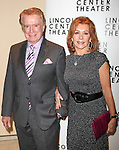 Regis Philbin & Joy Philbin.attending the Opening Night After Party for 'War Horse' in New York City.