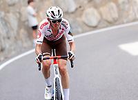 11th July 2021, Ceret, Pyrénées-Orientales, France; Tour de France cycling tour, stage 15, Ceret to  Andorre-La-Vieille;  O'CONNOR Ben of AG2R CITROEN TEAM  during stage 15 of the 108th edition of the 2021 Tour de France cycling race, a stage of 191,3 kms between Ceret and Andorre-La-Vieille.