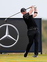 160719 | The 148th Open - Tuesday Practice<br /> <br /> David Duval of USA on the 17th tee during practice for the 148th Open Championship at Royal Portrush Golf Club, County Antrim, Northern Ireland. Photo by John Dickson - DICKSONDIGITAL