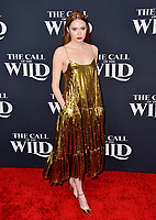 "LOS ANGELES, CA: 13, 2020: Karen Gillan at the world premiere of ""The Call of the Wild"" at the El Capitan Theatre.<br /> Picture: Paul Smith/Featureflash"