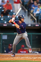 Lehigh Valley IronPigs third baseman Taylor Featherston (6) at bat during a game against the Buffalo Bisons on July 9, 2016 at Coca-Cola Field in Buffalo, New York.  Lehigh Valley defeated Buffalo 9-1 in a rain shortened game.  (Mike Janes/Four Seam Images)