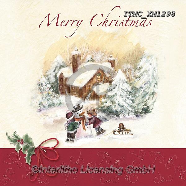 Marcello, CHRISTMAS LANDSCAPES, WEIHNACHTEN WINTERLANDSCHAFTEN, NAVIDAD PAISAJES DE INVIERNO, paintings+++++,ITMCXM1298,#xl#