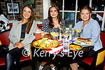 Enjoying the evening in the Brogue Inn on Friday, l to r: Molly O'Keffee (Tralee), Hannah Grealish (Tralee) and Leah Canty (Tralee).