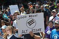 No to White Supremacy - 40,000 March in Boston MA 8.19.17
