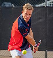 Rotterdam, Netherlands, August21, 2017, Rotterdam Open, Scott Griekspoor (NED)<br /> Photo: Tennisimages/Henk Koster