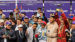 October 31, 2015:  Mongolian Saturday with Florent Geroux win the Grade I Breeder's Cup Turf Sprint for 3-year olds & up, going 5 1/2 furlongs at Keenland Racecourse.  Trainer Enbeish Ganbat. Owner Mongolian Stable. Sue Kawczynski/ESW/CSM
