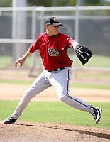 Wes Roemer / Arizona Diamondbacks 2008 Instructional League..Photo by:  Bill Mitchell/Four Seam Images