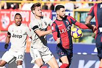 Daniele Rugani of Juventus , Roberto Soriano of Bologna <br /> Bologna 24-02-2019 Stadio Dall'Ara <br /> Football Serie A 2018/2019 Bologna - Juventus<br /> Foto Image Sport / Insidefoto