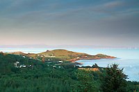 The Solway Firth and Castle Point and Rockcliffe from The Muckle (Mark Hill), Dumfries and Galloway
