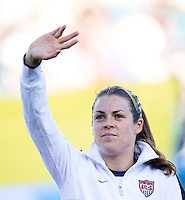Kelley O'Hara.  The USWNT defeated Scotland, 4-1, during a friendly at EverBank Field in Jacksonville, Florida.