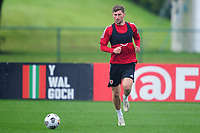 Ben Davies of Wales in action during the Wales Training Session at The Vale Resort in Cardiff, Wales, UK. Monday 5 October 2020
