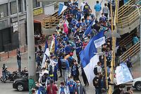 BOGOTÁ-COLOMBIA, 20-06-2021:Millonarios y Deportes Tolima en partido por la final de la Liga BetPlay DIMAYOR 2021 jugado en el estadio Nemesio Camacho El Campín de la ciudad de Bogotá /Millonarios  and Deportes Tolima  in match for the final as part of the BetPlay DIMAYOR League I 2021 played at Nemesio Camacho El Campin  stadium in Bogota city.Photo: VizzorImage / Felipe Caicedo/ Staff