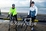 Ready to enjoy a cycle in Ballyheigue on Sunday, l to r: Mary Burke and Sinead Kennedy