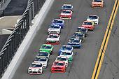 #20: Harrison Burton, Joe Gibbs Racing, Toyota Supra Dex Imaging band #7: Justin Allgaier, JR Motorsports, Chevrolet Camaro BRANDT