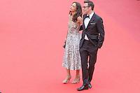 berenice bejo et michel hazanavicius arrivent sur le tapis rouge pour le film le bon gros geant de steven spileberg projete en avant premiere lors du soixante neuvieme festival du film a cannes le samedi 14 mai 2016