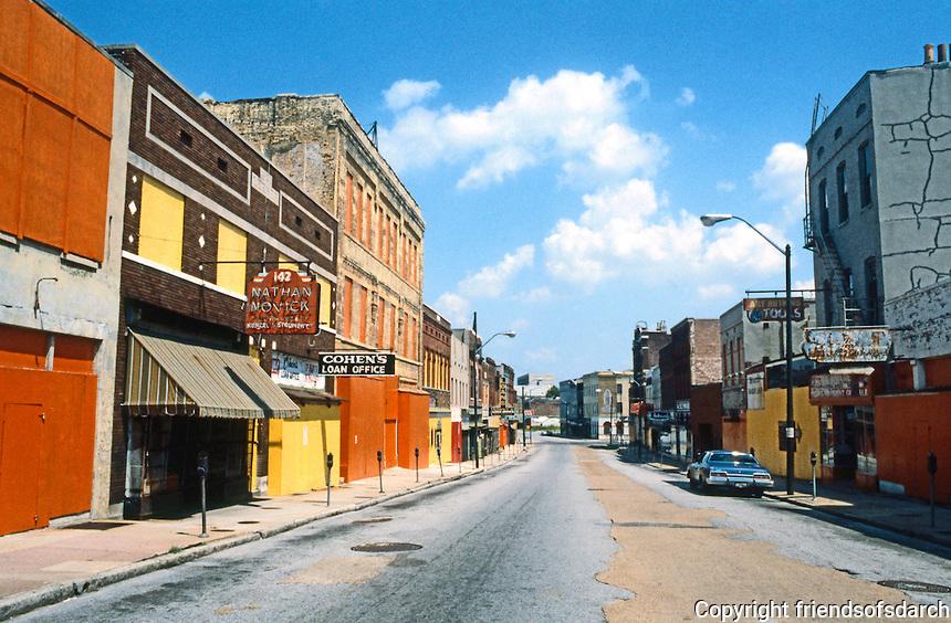 Memphis:  Lower Beale St.