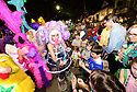 The Chaos parade rolls in New Orleans on Thursday, Feb. 23, 2017. (AFP/CHERYL GERBER)