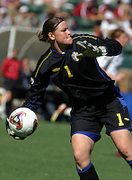 Carolina Joensson, Germany 2-1 over Sweden at the  WWC 2003 Championships.