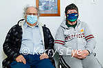 Michael and Kathleen Foley from Castlemaine received their second doses of vaccines in the Milltown Medical Centre on Friday:
