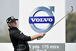 SUZHOU, CHINA - APRIL 16:  Jamie Donaldson of Wales tees off on the 8th hole during the Round Two of the Volvo China Open on April 16, 2010 in Suzhou, China. Photo by Victor Fraile / The Power of Sport Images