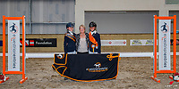 Pony Elementary - Champion: Claudia Younger (Sandhill Trussardi); Reserve: Grace Purdie (Firebird Five). 2021 NZL-Equestrian Entries NZ Youth Dressage Festival. NEC Taupo. Sunday 31 January. Copyright Photo: Libby Law Photography