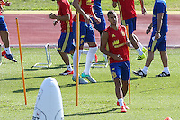 Spanish Lucas Vazquez during the second training of the concentration of Spanish football team at Ciudad del Futbol de Las Rozas before the qualifying for the Russia world cup in 2017 August 30, 2016. (ALTERPHOTOS/Rodrigo Jimenez) /NORTEPHOTO