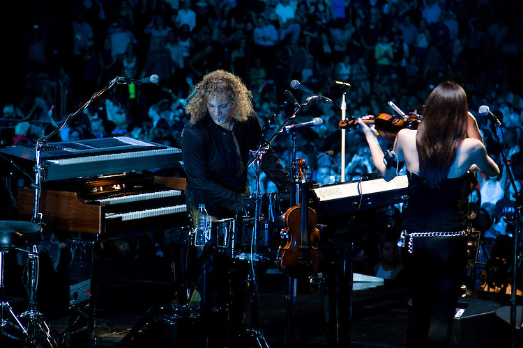 David Bryan performs during the last night of the Lost Highway Tour at Madison Square Garden.