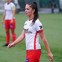 Essevee's Romy Camps (3) pictured during a female soccer game between the women teams of Zulte Waregem A Dames and KRC Genk Ladies B on the 1/16 th qualifying round for the Belgian Womens Cup 2020  2021 , on saturday 26 th of September 2020  in Zulte , Belgium . PHOTO SPORTPIX.BE | SPP | SEVIL OKTEM