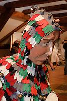 schwäbisch-alemannische Fasnacht, Fasnetmuseum in Weingarten, Baden-Württemberg, Deutschland