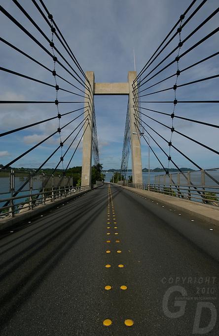Palau Japanese Friendship Bridge