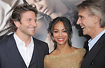 Bradley Cooper ,Zoe Saldana and Jeremy Irons attends The Premiere of The Words held at The Arclight Theatre in Hollywood, California on September 04,2012                                                                               © 2012 DVS / Hollywood Press Agency
